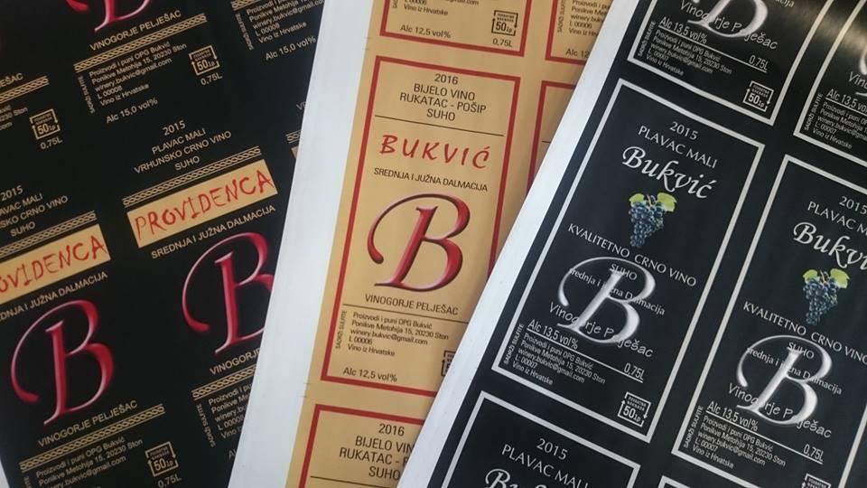 Print etiketa za vino