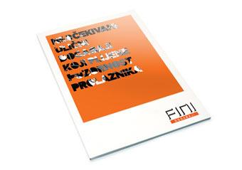 Brošura UV lak