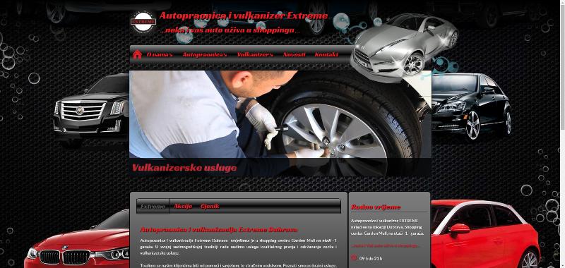 Izrada web stranice/weba