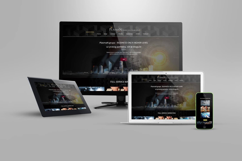 izrada web stranice za marketing agenciju