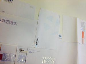 kuverte raznih formata, American, B5. C5, A4 i ostali, do kolora, dotisak loga