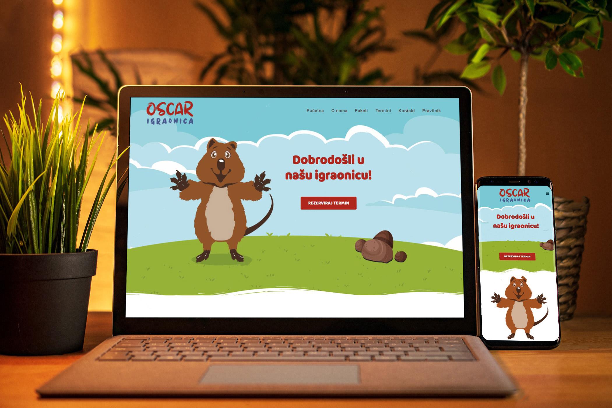 Izrada web stranice